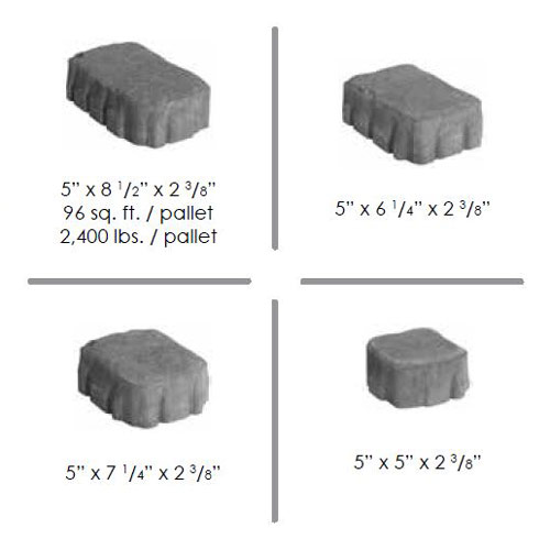 Ligonier Block Sizes