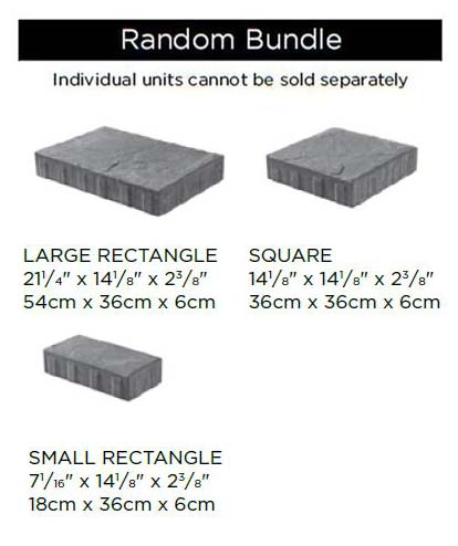 Beacon Hill Flagstone Block Sizes