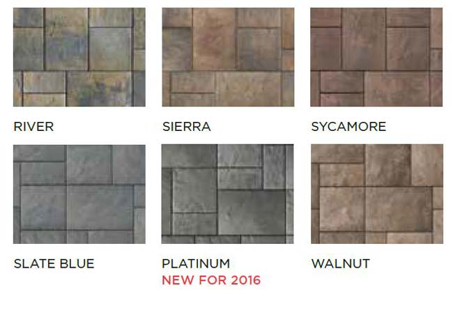 Beacon Hill Flagstone Block Styles