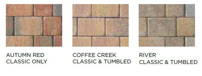 Camelot & Tumbled Camelot Block Styles