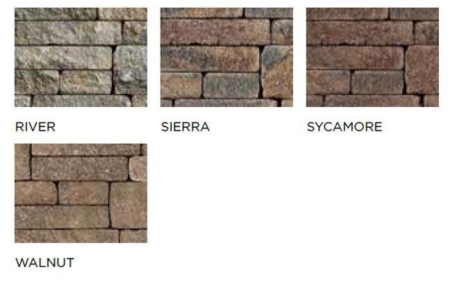 Estate Wall Block Styles