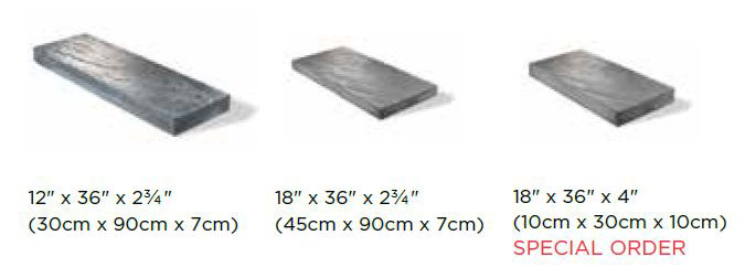 Richcliff XL Block Sizes