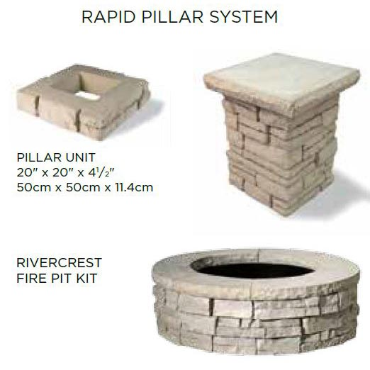 Rivercrest Wall Pillar System