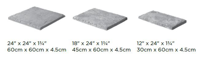 Yorkstone Block Sizes