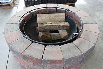Round Fireplace Kit